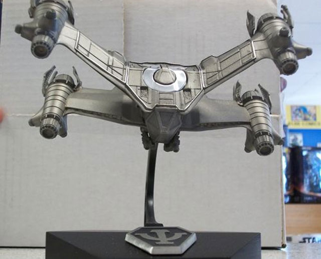 BABYLON 5 Starfury Pewter Statue (Factory X)