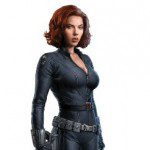 Life Size THE AVENGERS Black Widow Cardboard Cutout