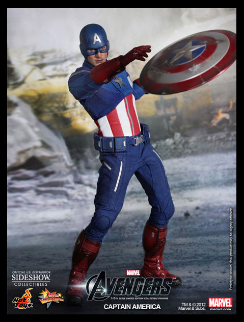 CAPTAIN AMERICA: THE FIRST AVENGER Sixth Scale Movie Masterpiece Figure (Hot Toys)