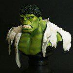 Retro Hulk Mini Polystone Bust