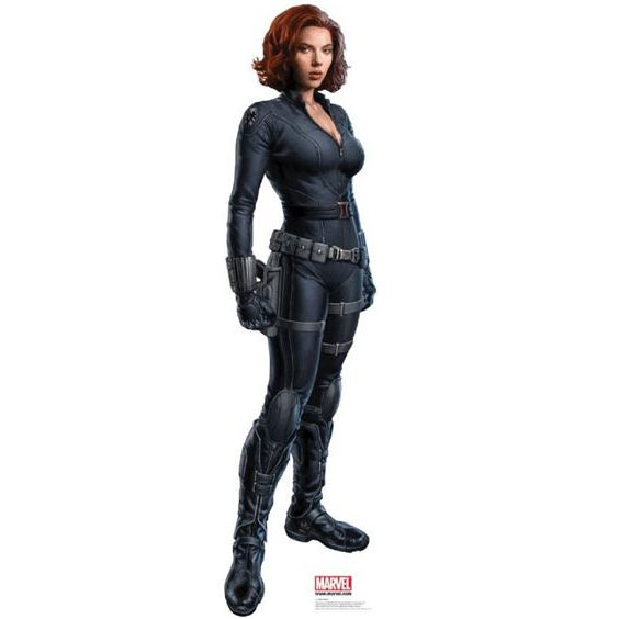 THE-AVENGERS-Black-Widow-Cardboard-Cutout