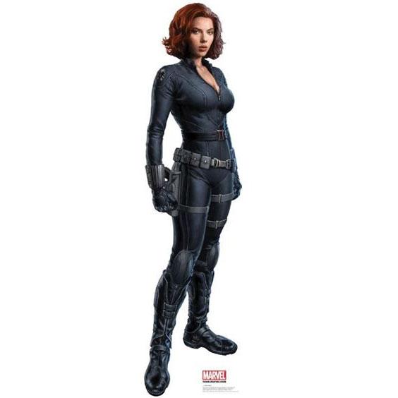 THE-AVENGERS-Black-Widow-Cardboard-Cutout