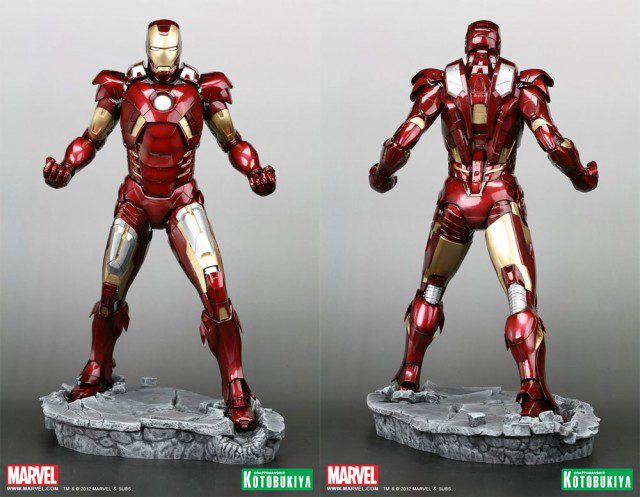 THE-AVENGERS-Iron-Man-Mark-VII-ArtFX-Statue-Kotobukiya