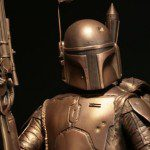 Limited Edition STAR WARS Boba Fett Bronze Statue