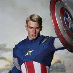 Limited Edition THE AVENGERS Captain America Sixth Scale Movie Masterpiece Figure (Hot Toys)