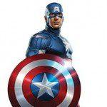 Captain America Cardboard Cutout