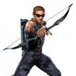 Hawkeye Cardboard Cutout
