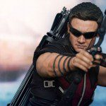 Limited Edition THE AVENGERS Hawkeye 1:6 Scale Figure (Hot Toys Movie Masterpiece)