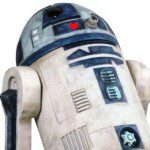 R2-D2 Clone Wars Monument Statue