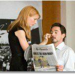Iron Man Newspaper