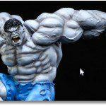 Grey Hulk Comiquette Prototype