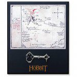 THE HOBBIT: AN UNEXPECTED JOURNEY – Thorin Oakenshield Key and Map Prop Replica Set