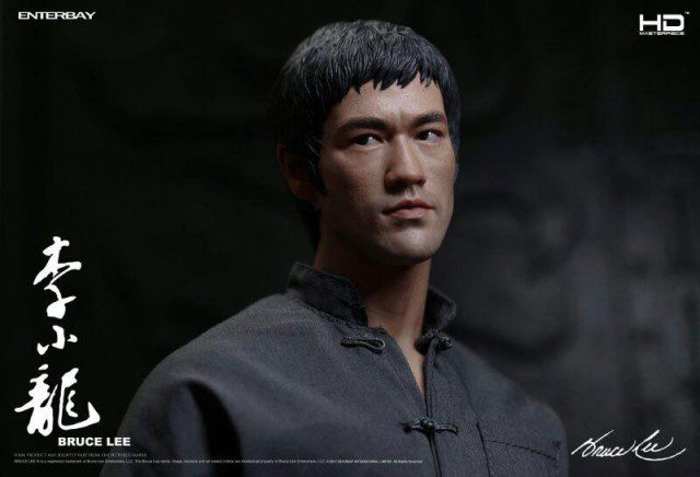 Bruce Lee THE WAY OF THE DRAGON HD Masterpiece Action Figure