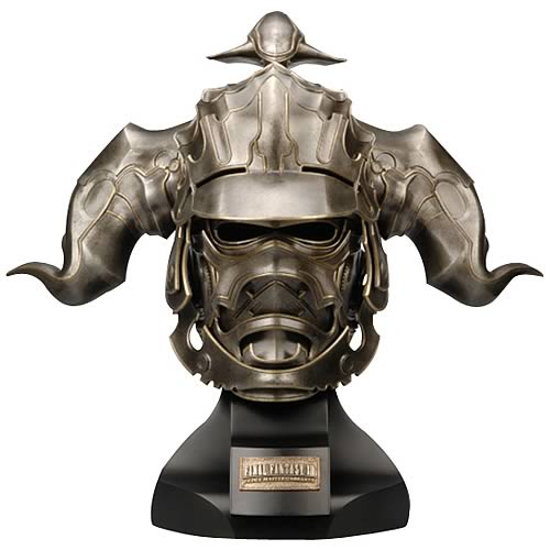 FINAL FANTASY XII Artifacts Judge Master Gabranth Helm Prop Replica Square-Enix