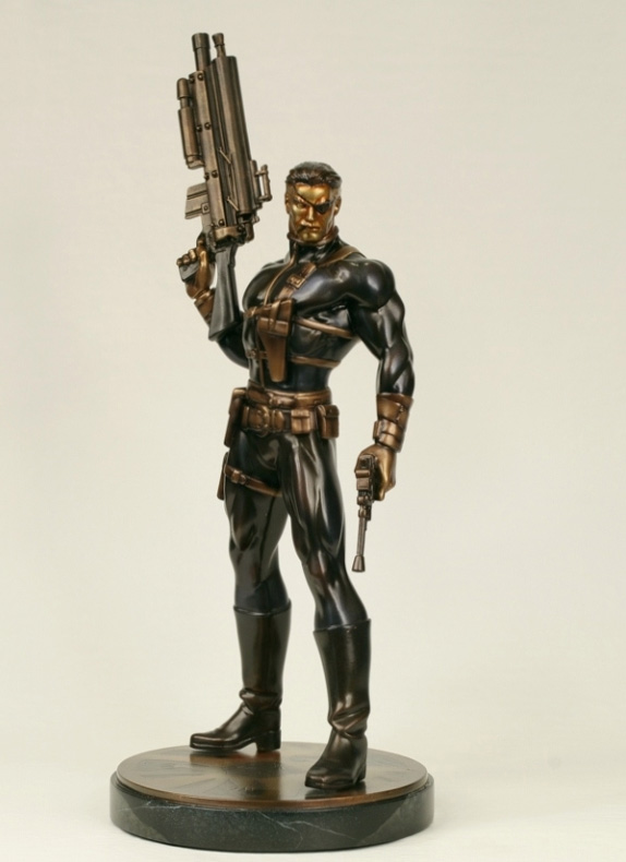 Faux Bronze NICK FURY Statue (Bowen Designs)
