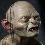 Limited Edition LORD OF THE RINGS Gollum 1/4 Scale Poseable Figure (NECA)