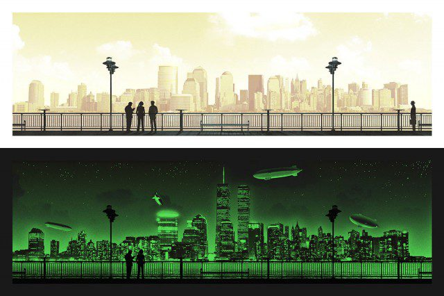 Limited-Edition-FRINGE-Mark-Englert-Screen-Print-Glow-in-the-Dark-Mondo-Poster