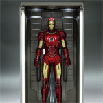 Limited Edition IRON MAN 2 Hall of Armor Diorama (Hot Toys)