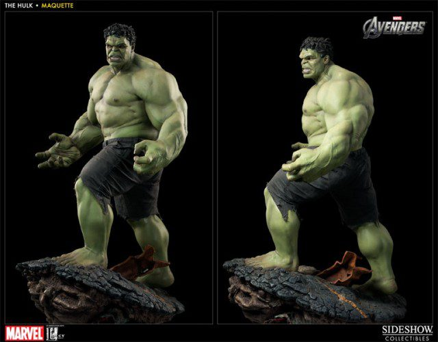 Limited Edition THE AVENGERS HULK Maquette