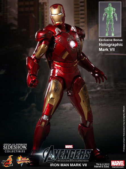THE AVENGERS Iron Man Mark VII Sixth Scale Figure (Hot Toys)