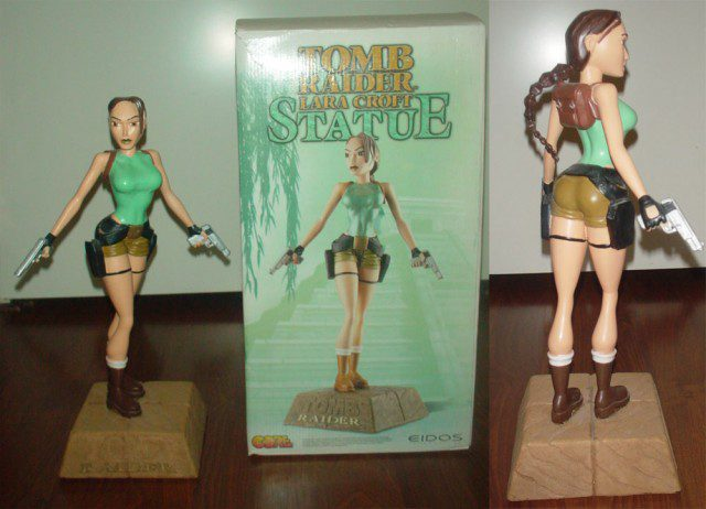 TOMB RAIDER Lara Croft Statue (Original, 1996)
