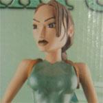 Rare TOMB RAIDER Lara Croft 14″ Statue (Original 1996 Core and Eidos Interactive Figure)