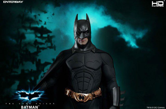 The Dark Knight BATMAN HD Masterpiece 1/4 Scale Action Figure