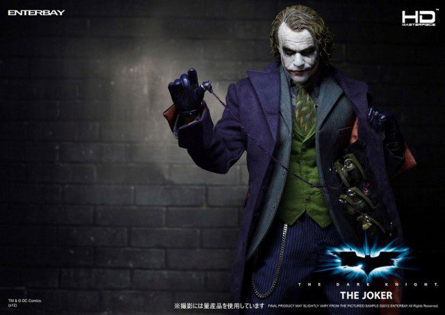 The Dark Knight JOKER HD Masterpiece Action Figure