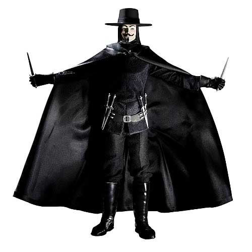 V FOR VENDETTA 1/6 Scale Collector Figure (DC Direct)