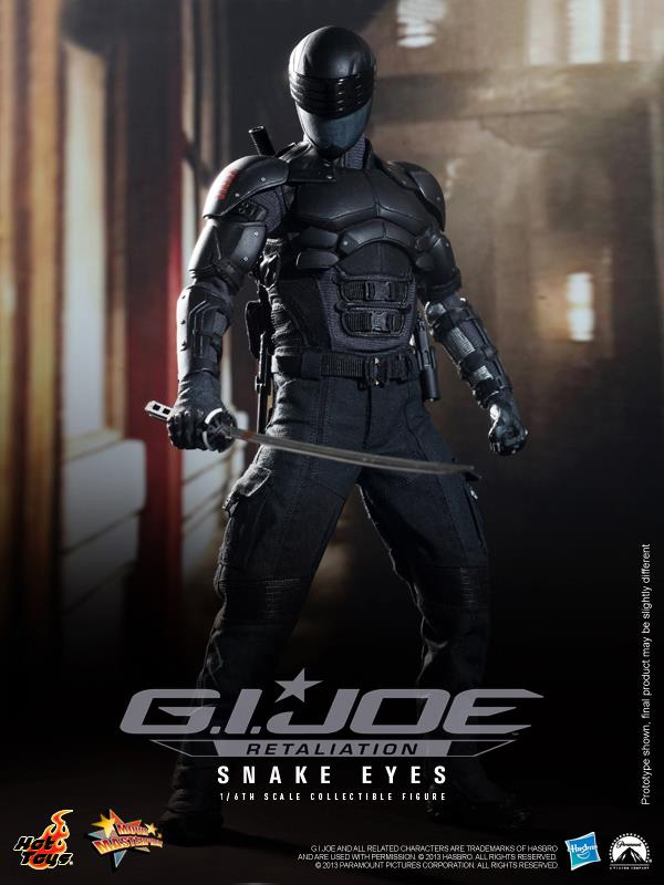 G.I. JOE: RETALIATION Snake Eyes Sixth Scale Figure (Hot Toys)