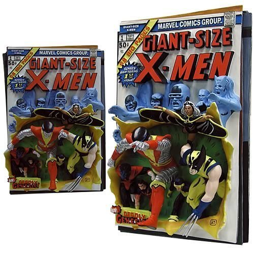Giant-Size X-Men First Appearance Comic Cover 3D Poster