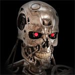 Limited Edition Life Size T-800 Terminator Endoskeleton V2.0 Prop Replica