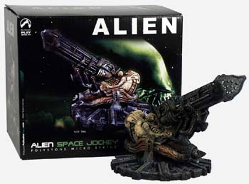 ALIEN Space Jockey Polystone Micro Statue (Palisades Direct)