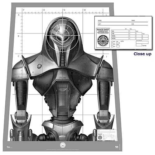 BATTLESTAR-GALACTICA-Cylon-Centurion-Target-Poster-Replica