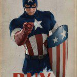 CAPTAIN AMERICA: THE FIRST AVENGER I Want You Replica Poster