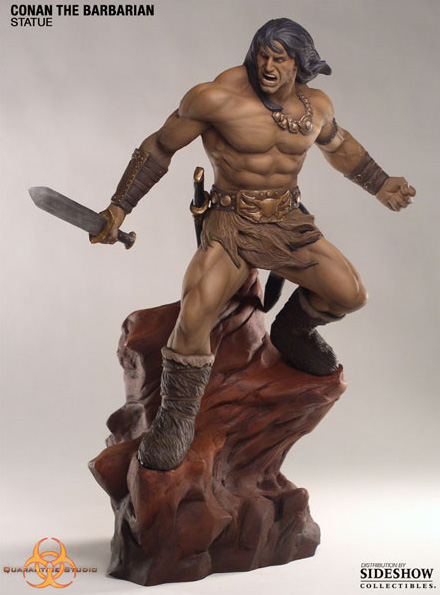 Limited Edition CONAN THE BARBARIAN Statue (Quarantine Studio)