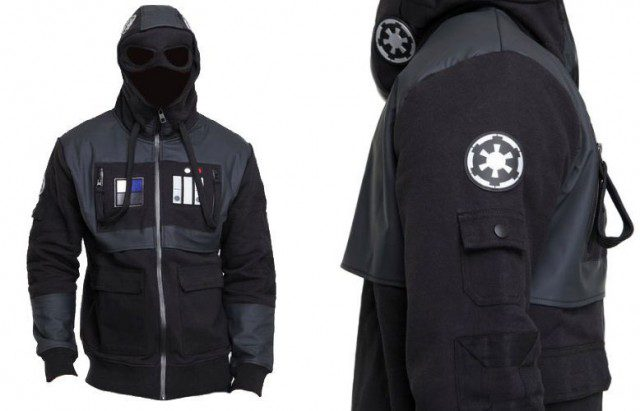 STAR WARS Imperial Tie Fighter Pilot Hooded Jacket (Marc Ecko)