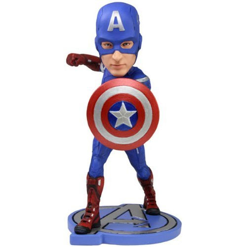 THE AVENGERS Captain America Bobble Head (NECA)