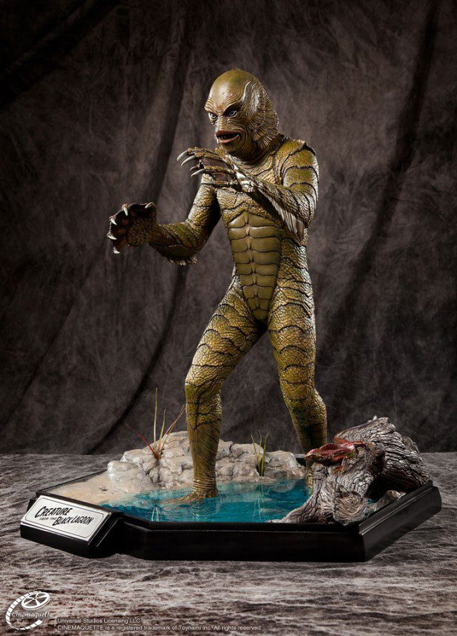 CREATURE-FROM-THE-BLACK-LAGOON-1-3-Scale-Polystone-Statue-Cinemaquette