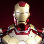 IRON MAN Mark XLII Bust (Hot Toys, Movie Masterpiece Series)