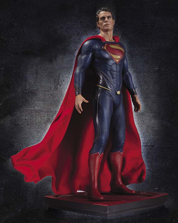 MAN OF STEEL Superman Icon Statue DC Collectibles