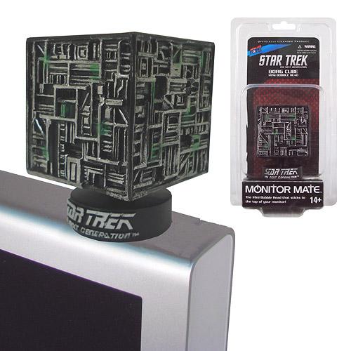 STAR TREK THE NEXT GENERATION Borg Cube Monitor Mate