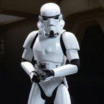 STAR WARS EPISODE IV: A NEW HOPE Stormtrooper 1/4 Scale Premium Format Figure