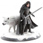 GAME OF THRONES Jon Snow and Ghost Statue (Dark Horse)
