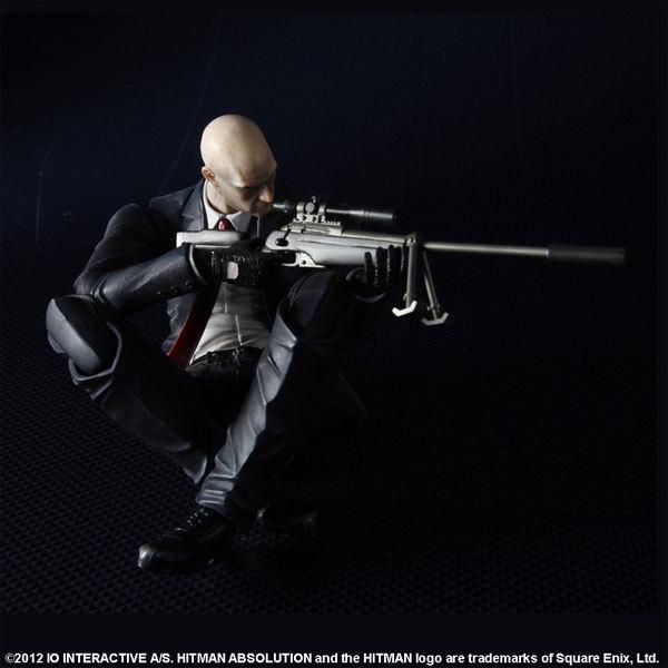 Hitman Absolution Agent 47 Play Arts Kai Action Figure