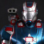 Limited Edition IRON MAN 3 Iron Patriot 1:4 Scale Bust (Hot Toys)