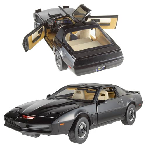 for KITT SF VERY RARE!! Michael Knight 1:18 Knight Rider figurine NO CARS !