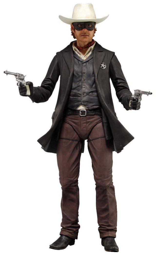 LONE RANGER John Reid 1-4 Scale Action Figure