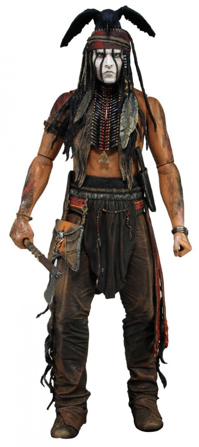 LONE RANGER Tonto 1-4 Scale Action Figure NECA