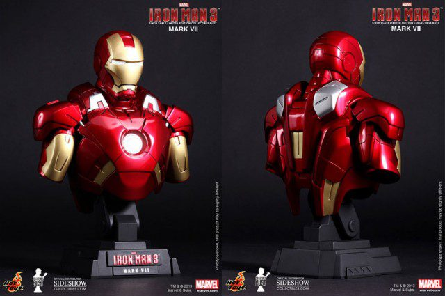 Limited-Edition-IRON-MAN-3-Iron-Man-Mark-VII-1-4-Scale-Bust-Hot-Toys-2